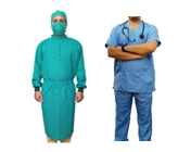 Doctor's Gown & Scrub Suit