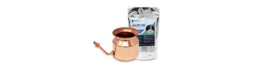 Jala Neti Pot and Salt