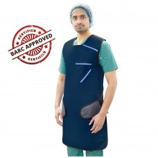 Lead Apron (Velcro Type) (Lead Equivalency 0.35mm), BARC Approved