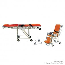 Ambulance Stretcher cum Wheelchair