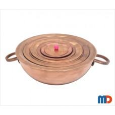 Hemispherical Copper Water Bath