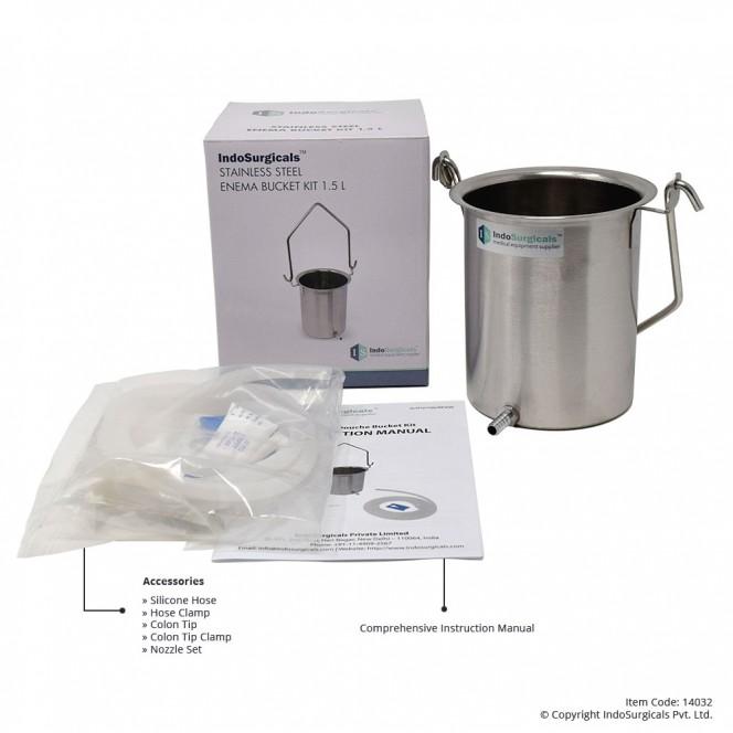 Enema Bucket Kit 1.5 Liter