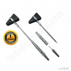 IndoSurgicals® Percussion Knee Hammer Taylor Model