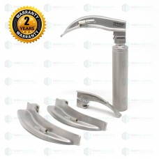 LED Laryngoscope Set Macintosh (Deluxe Quality)