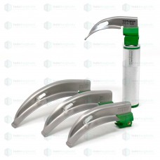 Disposable Fiber Optic LED Laryngoscope Set Macintosh
