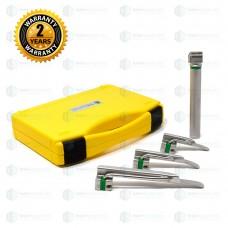 Fiber Optic LED Laryngoscope Set Miller
