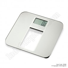 Digital Weighing Scale, Glass, 180 Kg