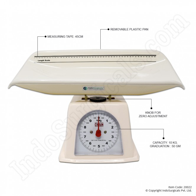 Baby Weighing Scales (Pan Type)
