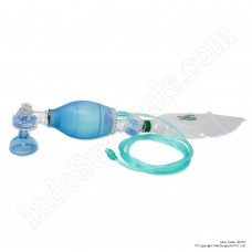 Silicone Artificial Resuscitator (Ambu Type Bag) Child - Blue