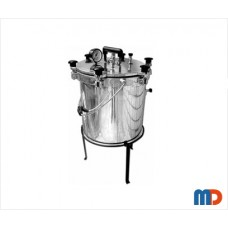 Autoclave, Aluminium, Seamless, Wingnut Type, General Quality, Non-Electric, 25 Ltrs.