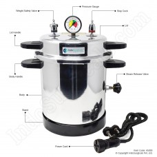 Dental Autoclave Pressure Cooker Type, Electric, 10 liter