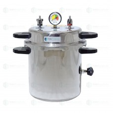 Autoclave Non-Electric 10 Ltrs., Aluminium, Seamless, Deluxe Quality, Pressure Cooker Type