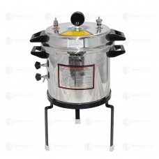 Autoclave Non-Electric 24 Ltrs., Aluminium, Seamless, Deluxe Quality, Pressure Cooker Type