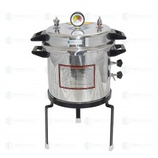 Autoclave Non-Electric 21 Ltrs., Aluminium, Seamless, Deluxe Quality, Pressure Cooker Type