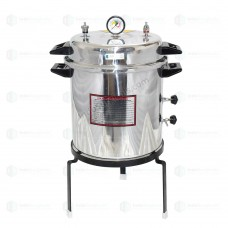 Autoclave Non-Electric 40 Ltrs., Aluminium, Seamless, Deluxe Quality, Pressure Cooker Type