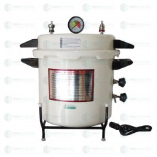 Autoclave Pressure Cooker Type, Epoxy Finish, Electric, 21 litre