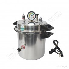 Autoclave Stainless Steel, 10 Litre, Electric