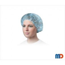 Disposable Bouffant Cap, Non Woven (Pack of 100 Pcs.)