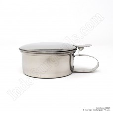 Sputum Mug with Cover (Stainless Steel)