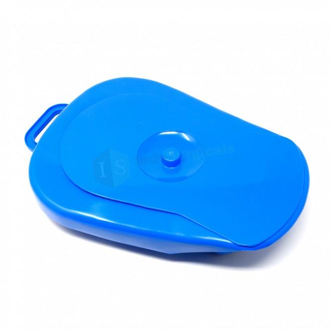 Bedpan for adult, Polypropylene, Autoclavable