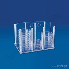 Rack For Petri Dishes (Pack of 2 Pcs.)