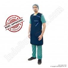 Lead Apron (Velcro Type) (Lead Equivalency 0.50mm), BARC Approved