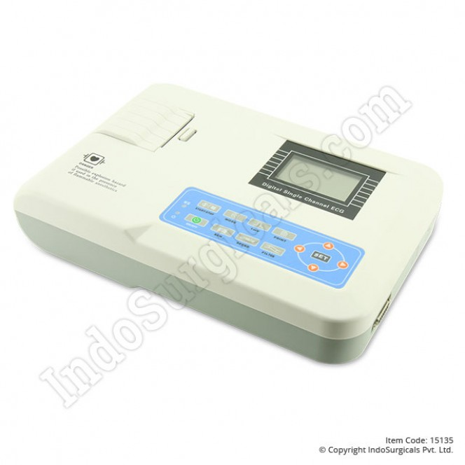 CMS 100G ECG Machine Single Channel