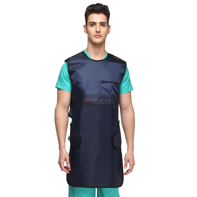 RADARMOUR® Lightweight X-Ray Lead Apron 0.25mm Lead Equivalency (Lead Vinyl)