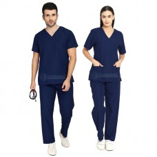 Scrub Suit for Doctors (Navy Blue)