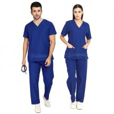 Scrub Suit for Doctors (Royal Blue)